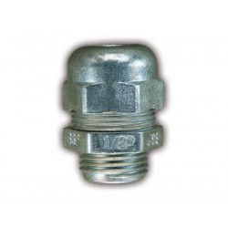 Prensacable de aluminio de 16 mm   5/8 p/ 4- 8 mm con tuerca