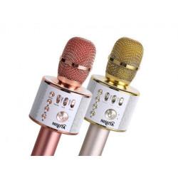 Microfono con parlante para karaoke con bluetooth y mp3...