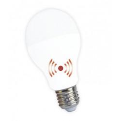 Lámpara led tbc bulbo ebb 10w 220v luz dia con fotocélula