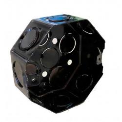 Caja metalica liviana  octogonal grande diametro 100 x 43mm