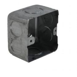 Caja metalica liviana  mignon    50 x  50 x 43 mm