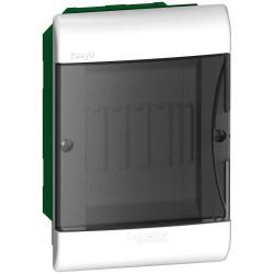 Caja plastica easy9 embutir 5 polos