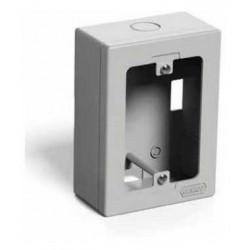 Caja plastica genrod exterior rectangular gris