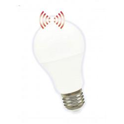 Lámpara led tbc bulbo ebb 10w con sensor de movimiento