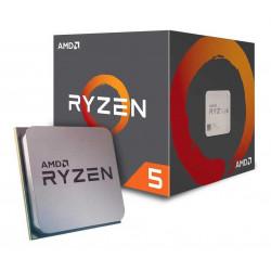 Microprocesador amd ryzen 5 2600 3.9 ghz sin video 3 mb 6...