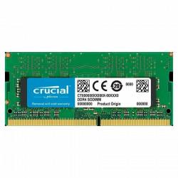 Memoria ram 4gb ddr4 sodimm 2400 mhz  kingston kcp424ss6/4
