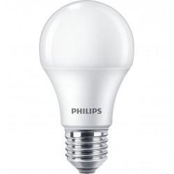 Lámpara led philips bulbo ecohome e27 de 10w 6500°k luz dia