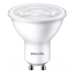 Lámpara led philips gu10 essential de 50w luz cálida spot...