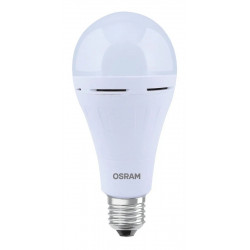 Lámpara led osram bulbo de 10w con bateria de emergencia...