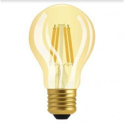 Lámpara led osram fil vintage e27 cla60 de 7w luz cálida