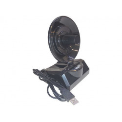 Placa de red wifi usb antena radar 10 dbi ns-wiu15010