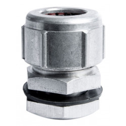 Prensacable de aluminio de 13 mm 1/2 orificio 8 mm con...