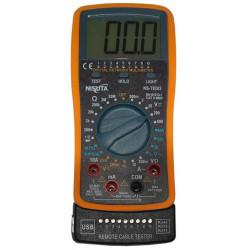 Nisuta tester digital p/rj11-rj12-rj45-usb     ns-tedi2
