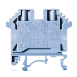 Zoloda borne de paso poliamida ukm-25 25mm montaje universal