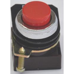 Botonera aea 1100 r impulso saliente d22 rojo