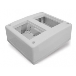 Cambre base multiple p/piso o pared 2 calados