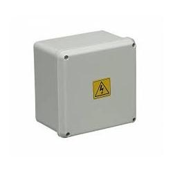 Hp caja paso pvc ip65 ext.blanca 210x210x110