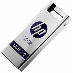 Pen drive metalico 32gb x795w hp-penfd795w-32