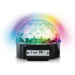 Parlante bluetooth semi esfera con luces a2010