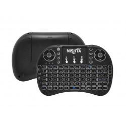 Nisuta teclado smart c/touchpad p/tv ns-wiktv76