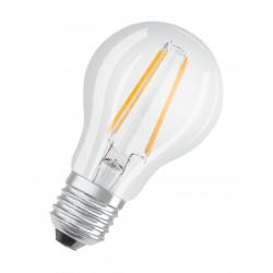 Lámpara osram led vintage cl60a bulbo e27 de 7w luz cálida