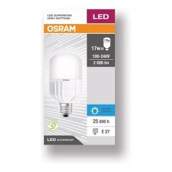 Lámpara led osram superstar high wattage e27 de 18w luz dia