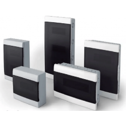 Q energy caja tm pvc embutir 16 mod. fume