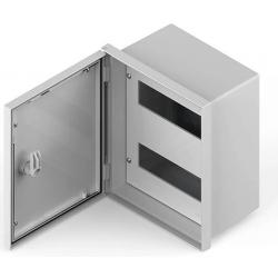 Q energy gabinete pvc estanco ip65 24 polos 320x320x150mm...
