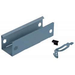 Placa union basica clipclip perforada 50mm con clips y flags