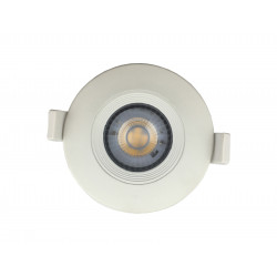 Embutido lumenac dot movil led 7w/840 4000°k d90mm