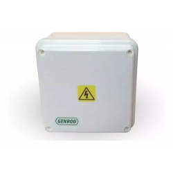 Caja paso genrod pvc ip65 ext.blanca 90x90x55 opaca