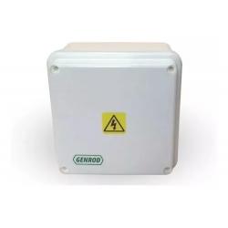 Hp caja paso pvc ip65 ext.blanca  90x 90x 55 opaca