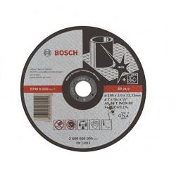 Disco de corte bosch inox 180 mm x 2 mm