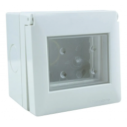 Caja exterior s.xxii 2 modulos ip55 ccon ventana...