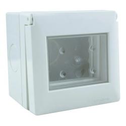 S.xxii caja exterior 2 modulos ip55 c/vent. trasl. flex.