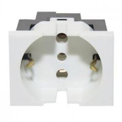 Módulo toma corriente cambre schuko sxxi 16a blanco