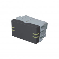 Módulo interruptor jeluz de 1 punto 10a gris fosforecente