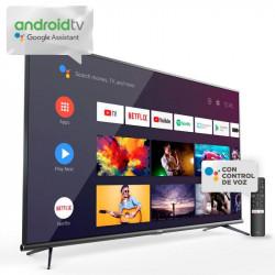 Tv led tcl l50p8m 50' ultra hd 4k smart android tv