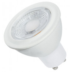 Lámpara dicroica tbc led gu10 de 7w luz cálida