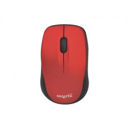 Mouse nisuta ns-mow37r mini inalámbrico 1600 dpi optico