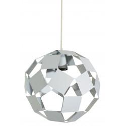 Colgante pelota ferrolux de chapa plegada d260mm blanco