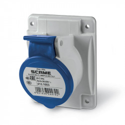 Base scame optima empotrable ip44 16a 2p+t 220v