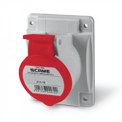 Base scame optima empotrable ip44 16a 3p+t 380v