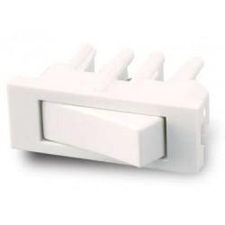Módulo interruptor cambre sxxi 10a blanco combinado