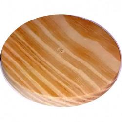Roseta de madera diametro de 10cm