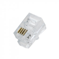 Conector telefonico rj 11 fte-pa160