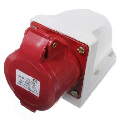 Ficha welt wt215-6 industrial hembra 3p+t+n ip44 380v móvil