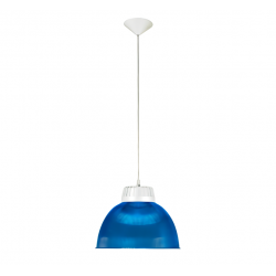 Colgante fuinyter trini acrilico azul con soporte bl.e27