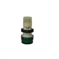Ojo de buey aea sr601 con led verde 100-220 vca