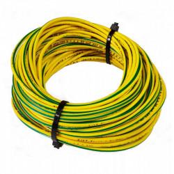 Cable prysmian unipolar 2,5 mm2 verde amarillo iram 2183